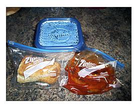 1 Quart Ziploc Bag Towels And Other Kitchen Accessories