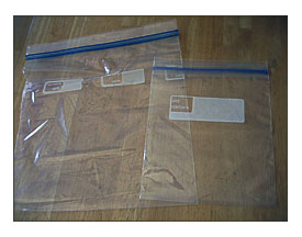 1 Quart Ziploc Bag Towels And Other Kitchen Accessories