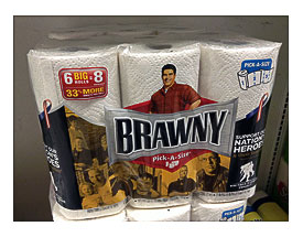 Brawny Paper Towels And Other Kitchen Accessories