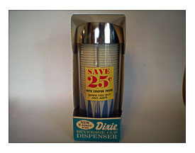 Dixie Bathroom Cup Dispenser | Towels and other kitchen