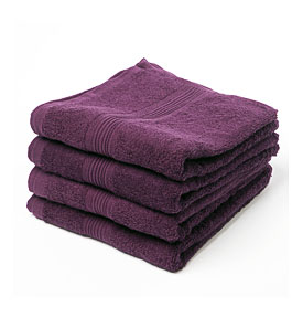 Eggplant Bath Towels And Other Kitchen Accessories