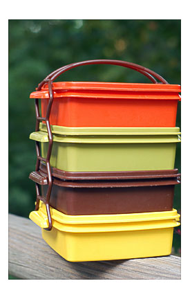 Stackable Lunch Containers Towels And Other Kitchen
