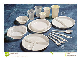 Varieties Of Disposable Plates Cups And Cutlery.  sc 1 st  Towels and other kitchen accessories - .towelsand.com & Styrofoam Togo Plates | Towels and other kitchen accessories