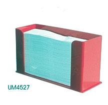 acrylic tri fold paper towel dispenser um4527