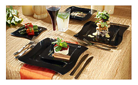 Upscale Disposable Dinnerware Collection & Upscale Disposable Dinnerware | Towels and other kitchen accessories