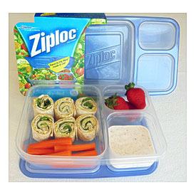 Ziploc Divided Lunch Containers Towels And Other Kitchen Accessories