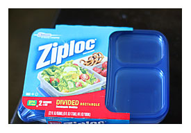 Ziploc Divided Lunch Containers Towels And Other Kitchen