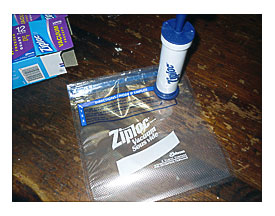 Ziploc Vacuum Pump Towels And Other Kitchen Accessories